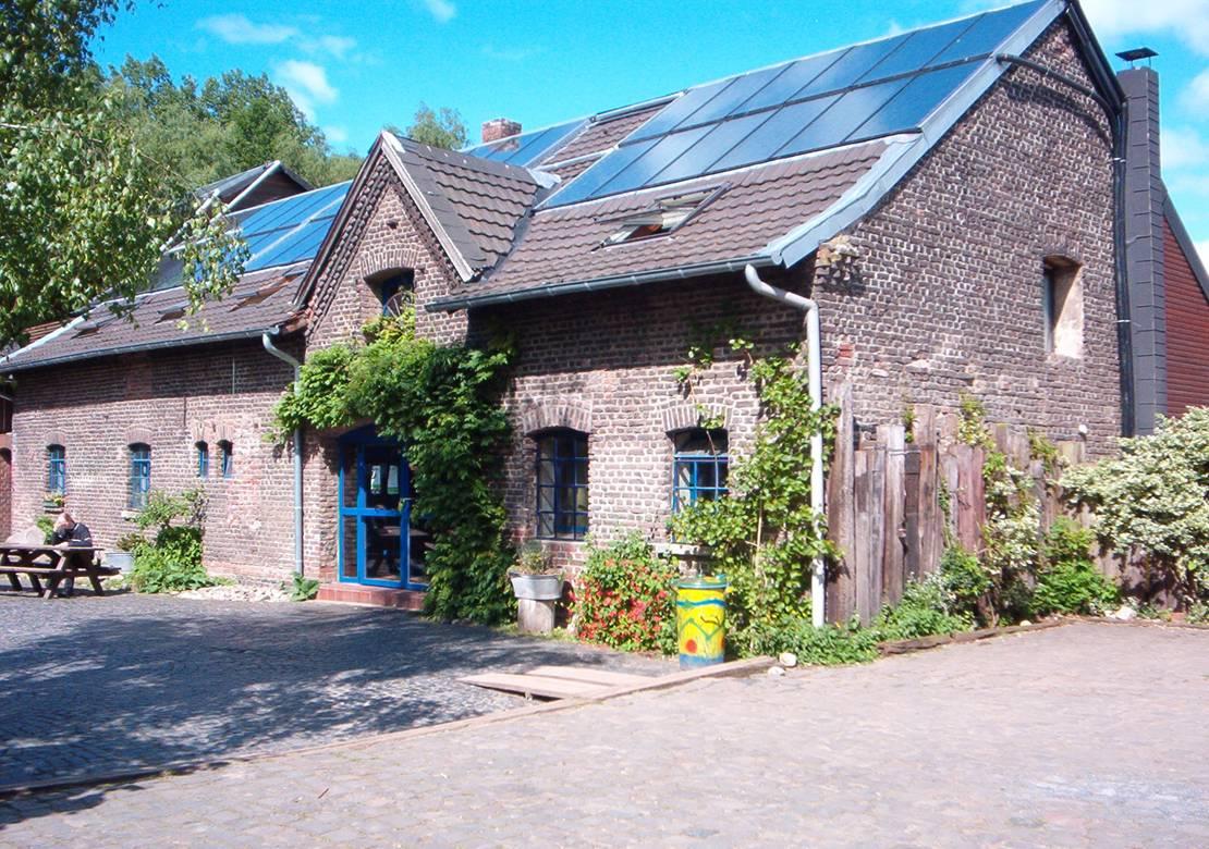 Casa techo solar