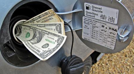 dinero y gasolina