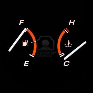 Temperatura coche