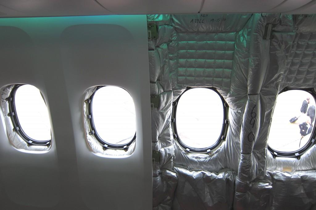 Avión aislamiento