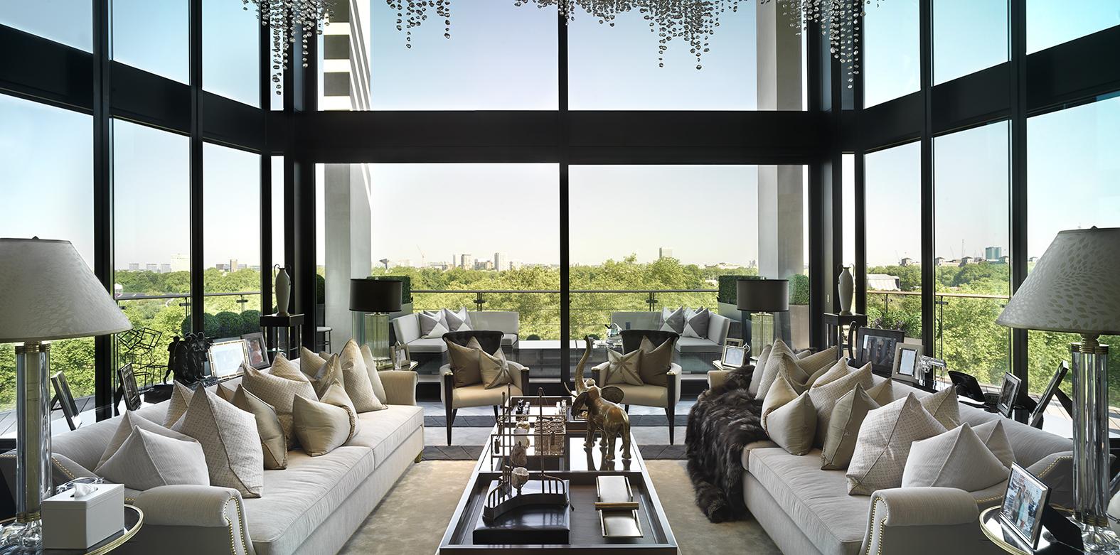 Hyde park penthouse