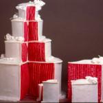 Alquiler pasteles de boda
