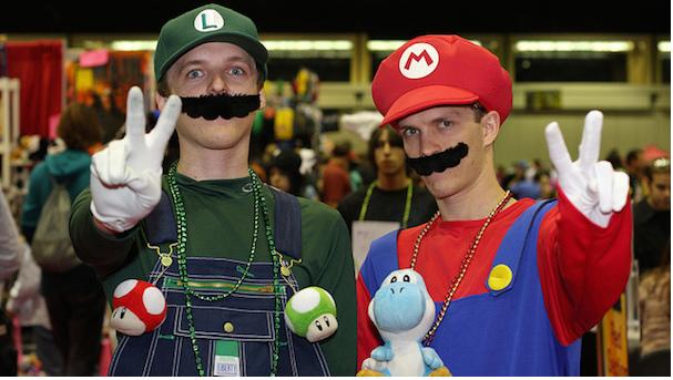 Mario y Luigi caseros